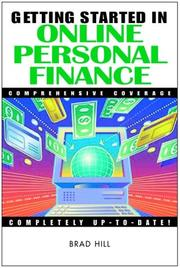 Cover of: Getting Started in Online Personal Finance (Getting Started In.....)