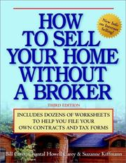 Cover of: How to Sell Your Home Without a Broker | Bill Carey, Chantal Howell Carey, Suzanne Kiffmann