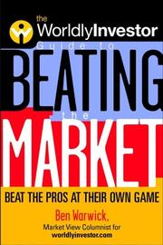 Cover of: The worldlyinvestor guide to beating the market