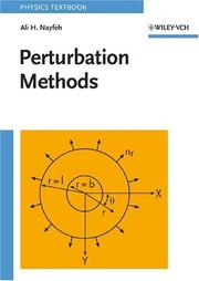 Perturbation methods by Ali Hasan Nayfeh
