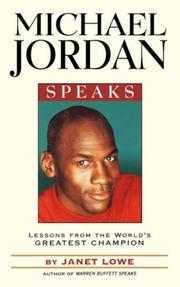 Cover of: Michael Jordan Speaks