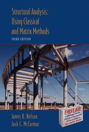 Cover of: Structural Analysis | James K., Jr. Nelson