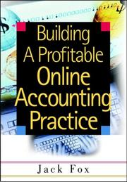 Cover of: Building a Profitable Online Accounting Practice | Jack Fox