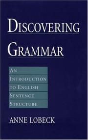 Cover of: Discovering grammar