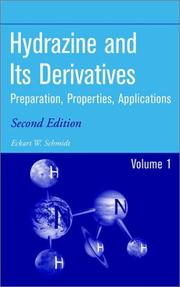 Cover of: Hydrazine and its derivatives