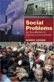 Cover of: Social Problems | Robert Heiner