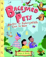 Cover of: Backyard Pets