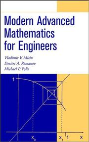 Cover of: Modern advanced mathematics for engineers
