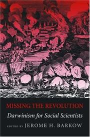 Missing the Revolution: Darwinism for Social Scientists