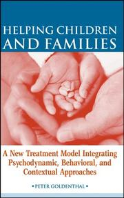 Cover of: Helping Children and Families