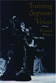 Cover of: Training soprano voices