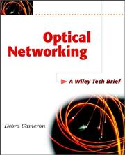 Cover of: Optical networking