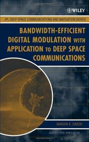 Cover of: Bandwidth-efficient digital modulation with application to deep-space communications |