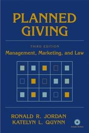 Cover of: Planned giving by