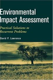 Cover of: Environmental Impact Assessment | David P. Lawrence