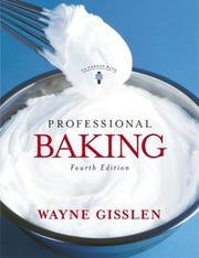 Cover of: Professional Baking | Wayne Gisslen