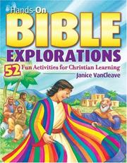 Cover of: Hands-on Bible explorations