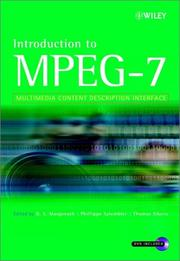 Cover of: Introduction to MPEG-7 |
