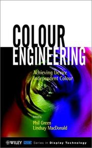 Cover of: Colour Engineering |