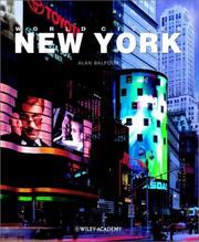 Cover of: World Cities New York | Alan Balfour