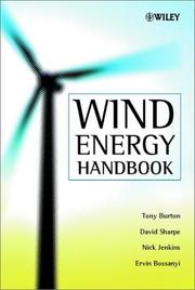 Cover of: Wind Energy Handbook | Tony Burton