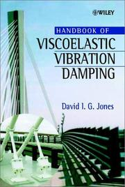 Cover of: Handbook of Viscoelastic Vibration Damping | David I. G. Jones