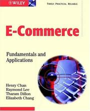 Cover of: E-commerce |