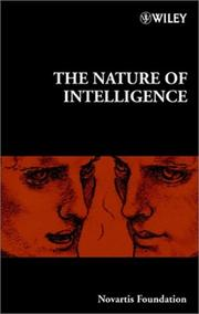 Cover of: The Nature of Intelligence No.233 | Novartis Foundation