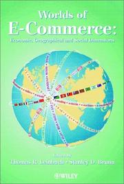 Cover of: The Worlds of Electronic Commerce |