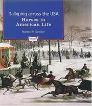 Cover of: Galloping Across the U.S.A. | Martin W. Sandler