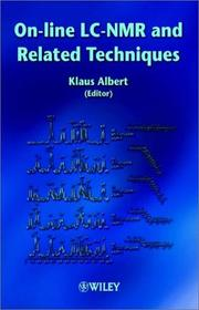 Cover of: On-line LC-NMR and Related Techniques | Klaus Albert