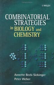 Cover of: Combinatorial Strategies in Biology and Chemistry | Annette Beck-Sickinger