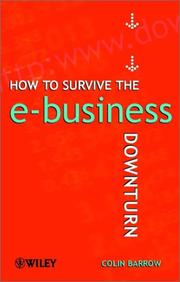 Cover of: How to survive the e-business downturn