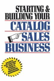 Cover of: Starting and building your catalog sales business