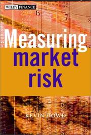 Cover of: Measuring Market Risk