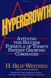 Cover of: Hypergrowth