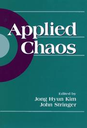 Cover of: Applied chaos