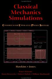 Cover of: Classical mechanics simulations