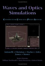 Cover of: Waves and optics simulations |
