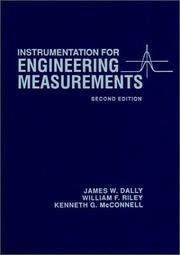 Cover of: Instrumentation for engineering measurements