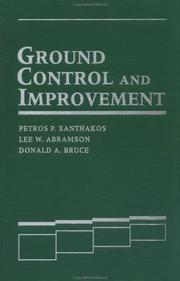 Cover of: Ground control and improvement