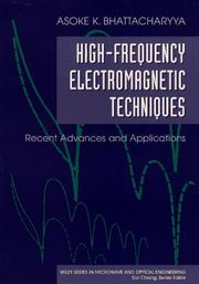 Cover of: High-frequency electromagnetic techniques
