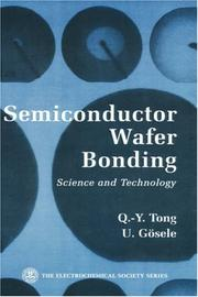 Cover of: Semiconductor wafer bonding