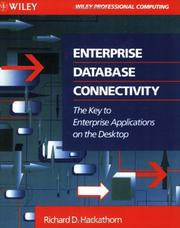 Cover of: Enterprise database connectivity