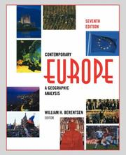 Cover of: Contemporary Europe | William H. Berentsen