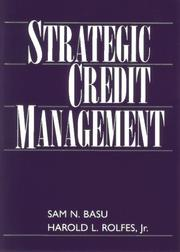 Cover of: Strategic credit management