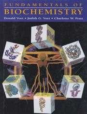 Fundamentals of biochemistry by Donald Voet