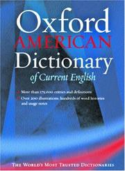 The Oxford American dictionary of current English  (1999 edition