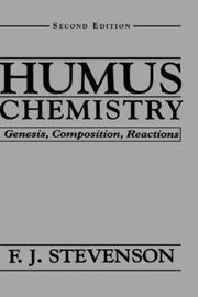 Cover of: Humus chemistry