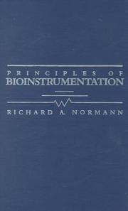 Cover of: Principles of bioinstrumentation